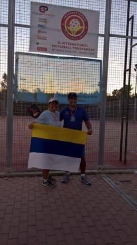 Zlato s Leonardo Gonzalesem Madrid